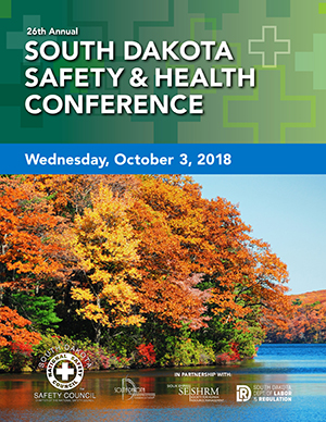 2018 South Dakota Safety and Health Conference Brochure